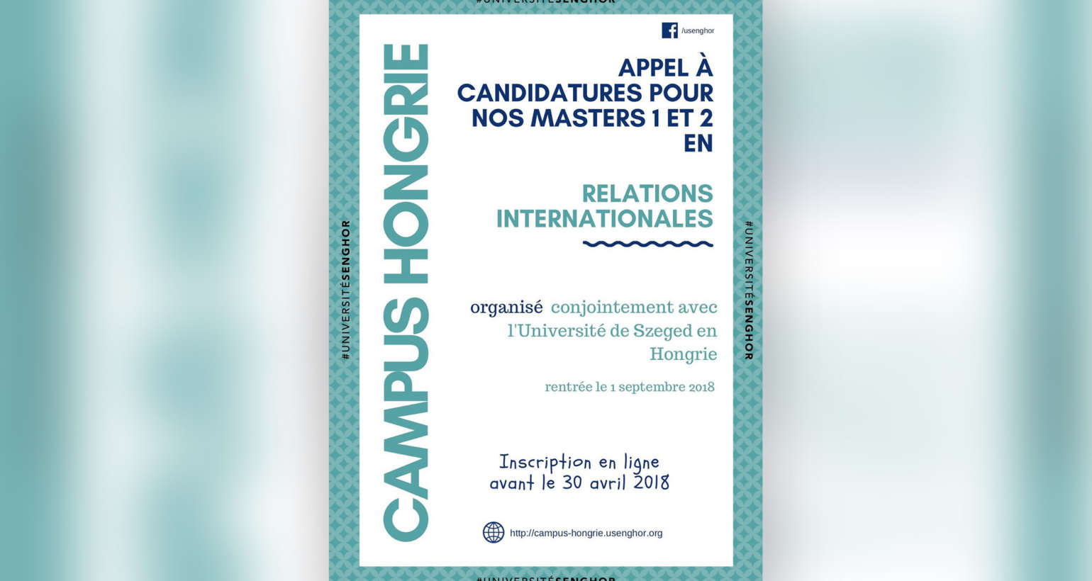 {HONGRIE} Master 1 & 2 en Relation Internationales