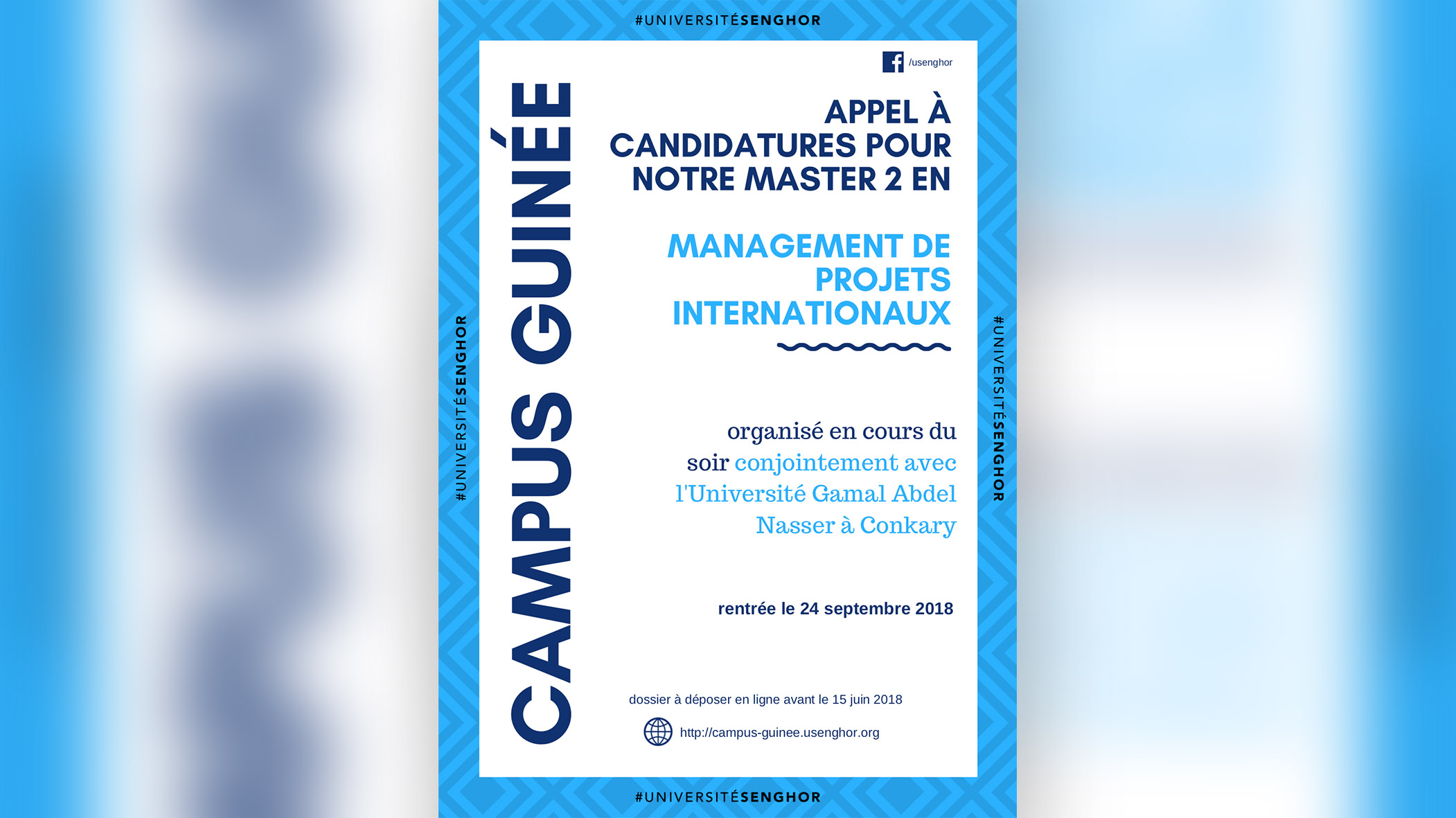 {GUINÉE} Master 2 en Management de projets internationaux
