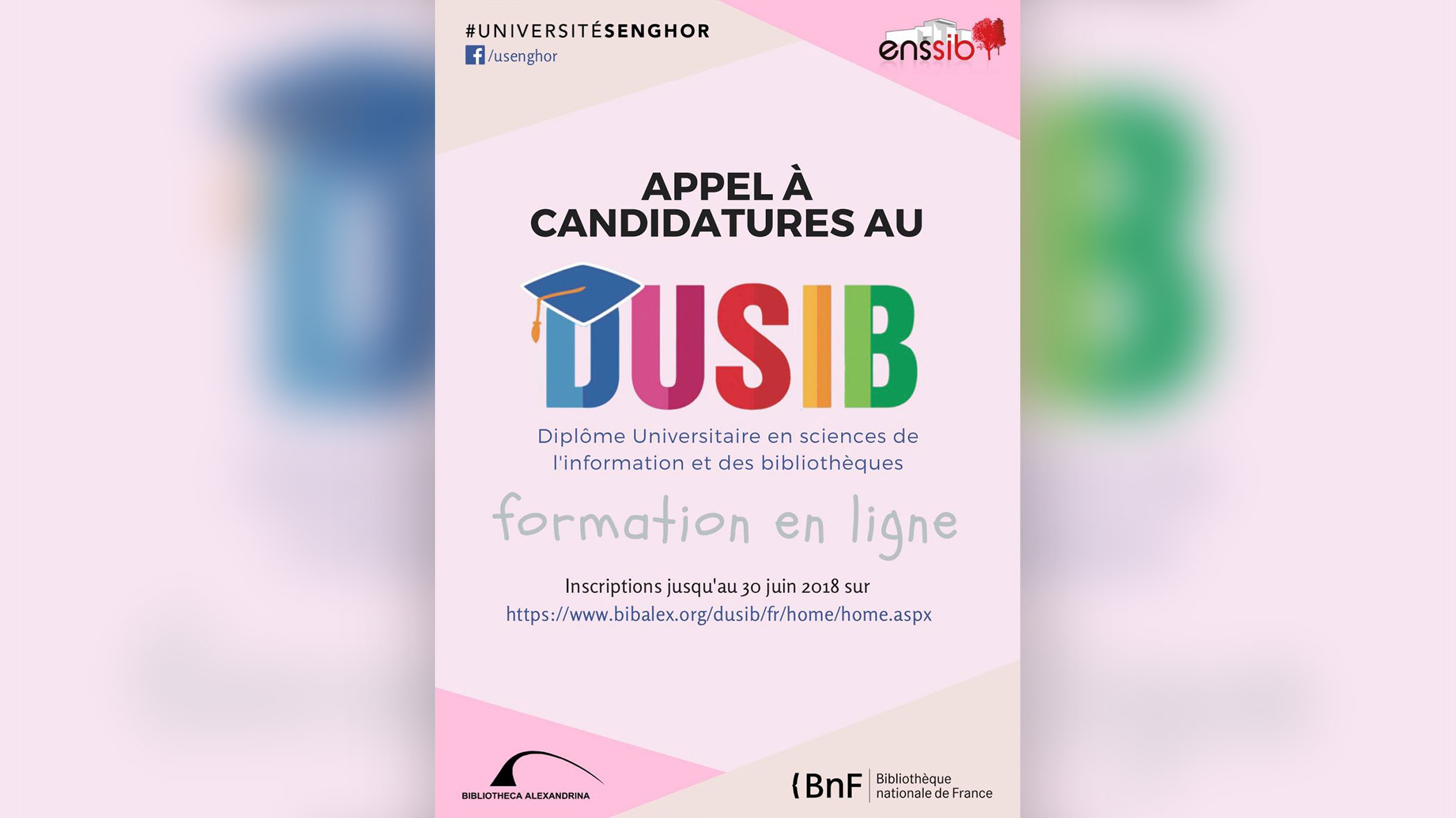 senghor université appel à candidature - dusib