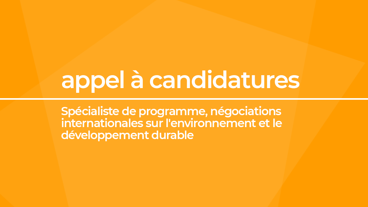 OIF candidature - environnement 2