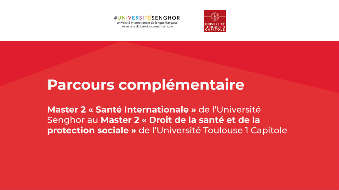 Appel à candidatures : Master 2 en santé internationale (Université Senghor)