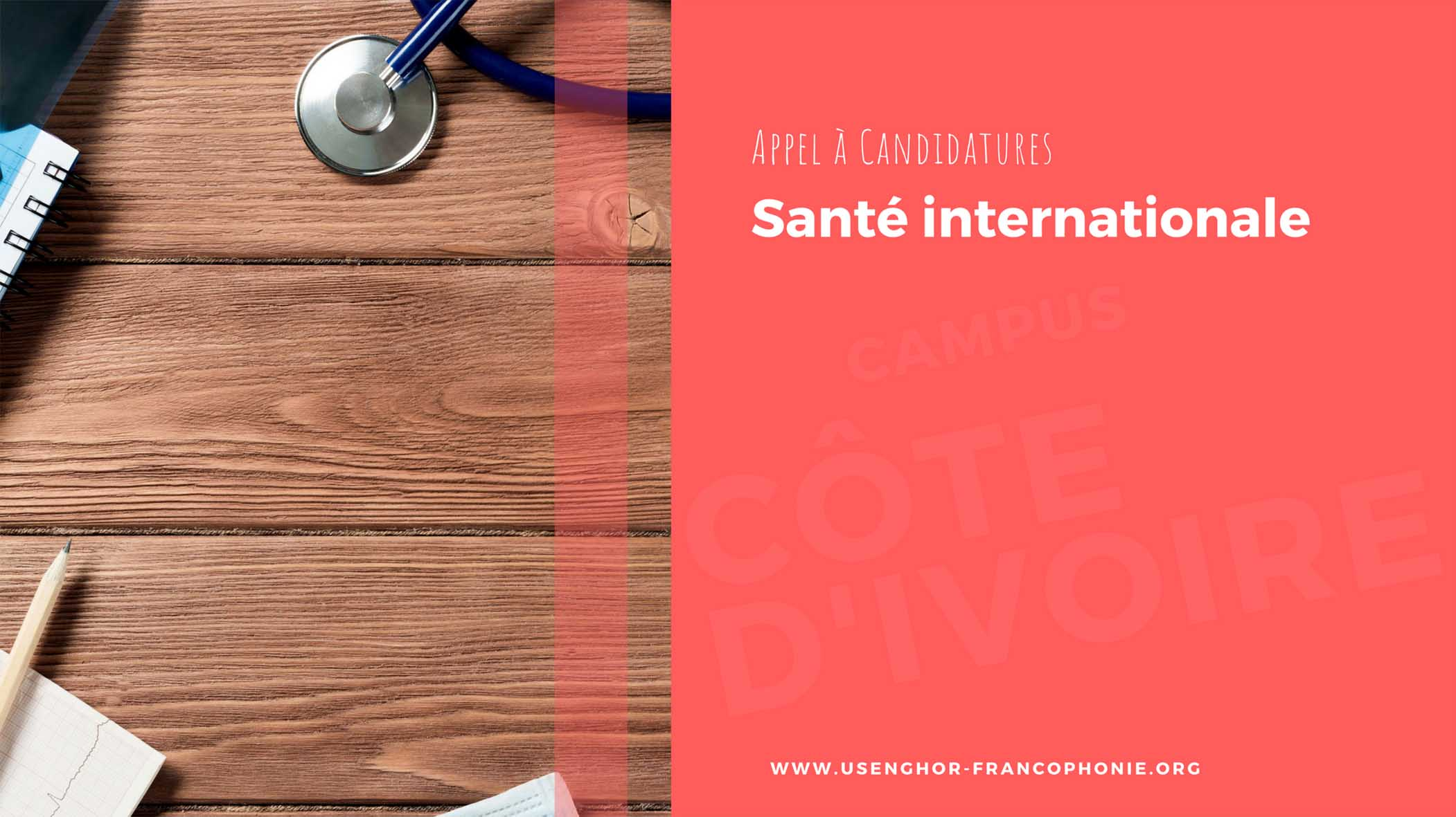 Appel à candidatures : Master 2 en Santé internationale