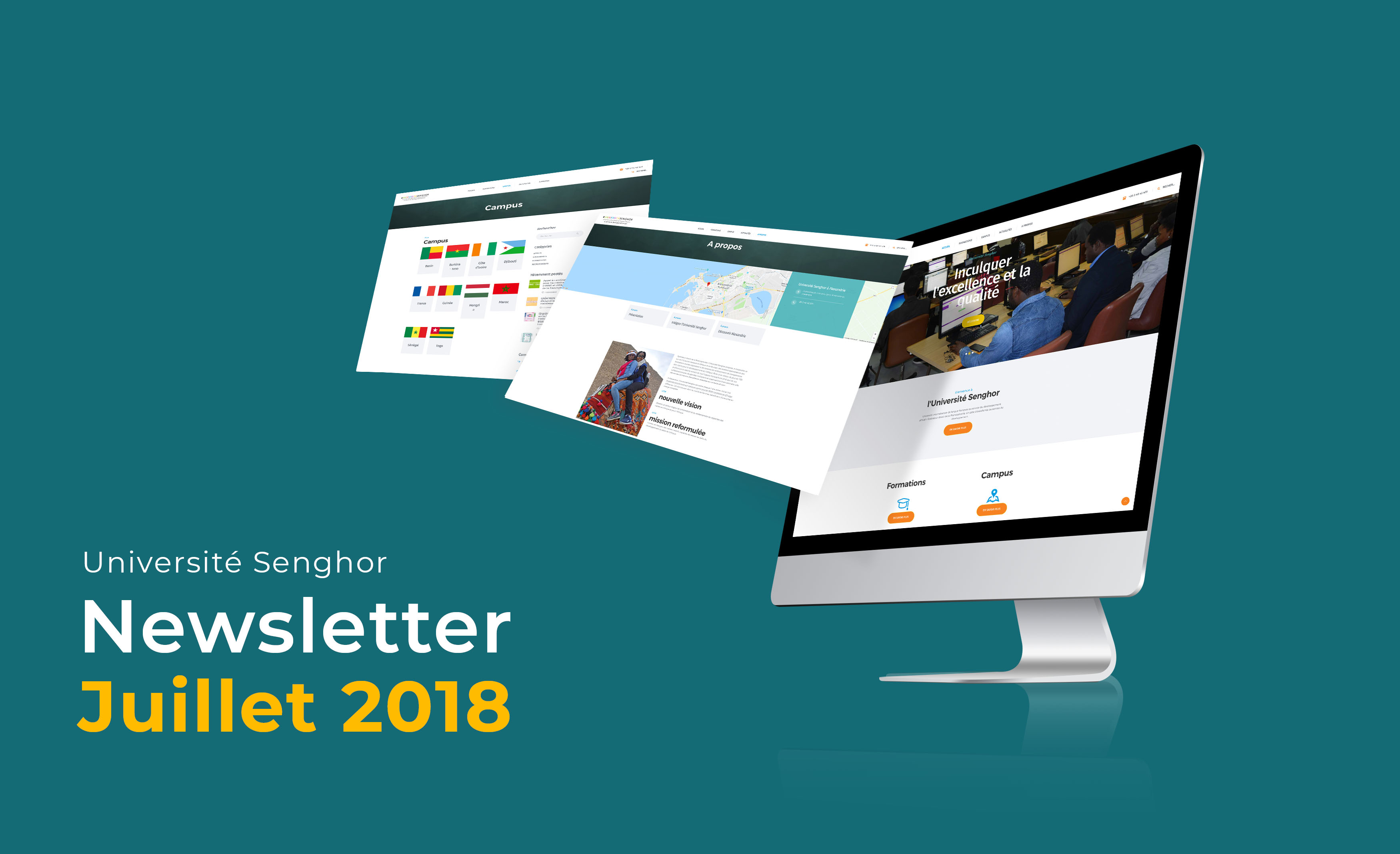 Newsletter Université senghor-Juillet 2018