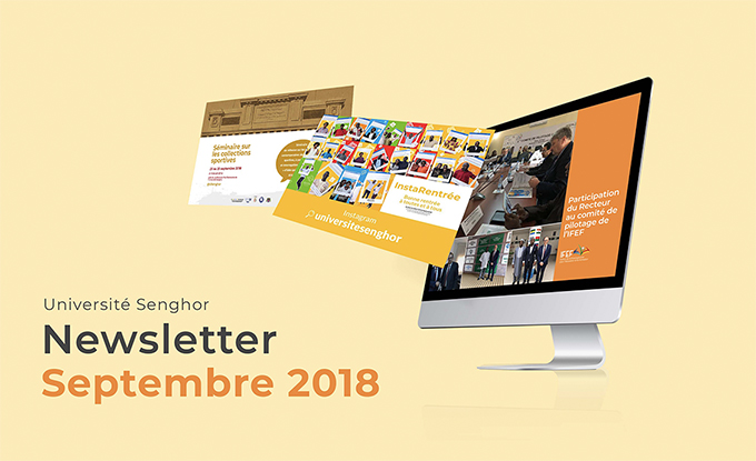 Newsletter Université senghor-Septembre 2018
