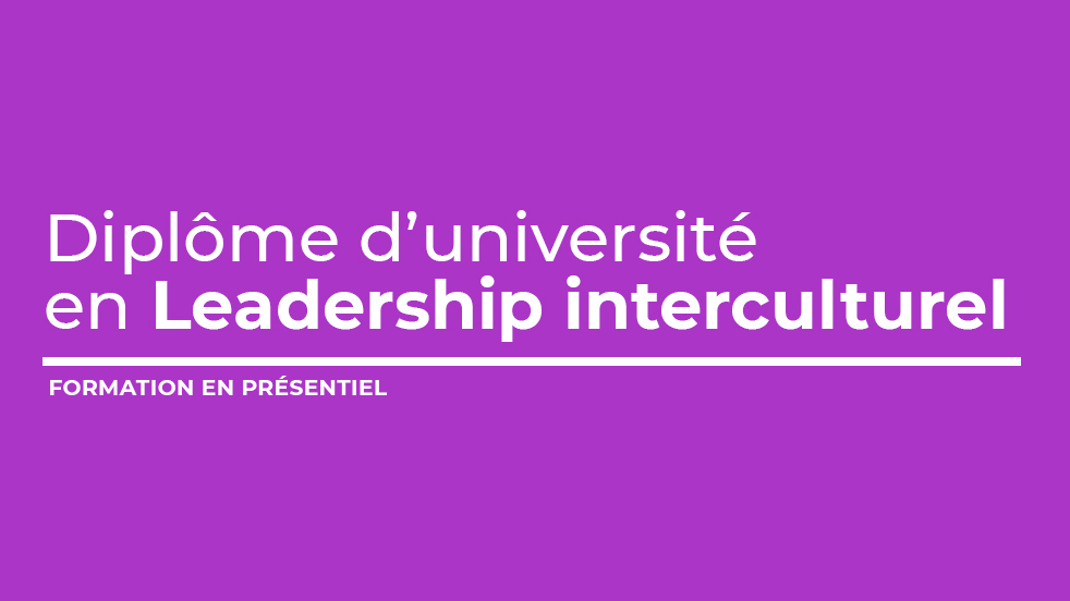 Diplôme d'université en leadership interculturel