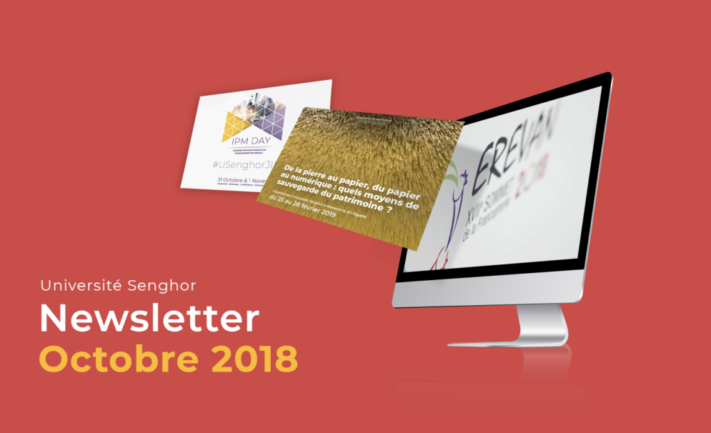 Newsletter Université senghor-Octobre 2018
