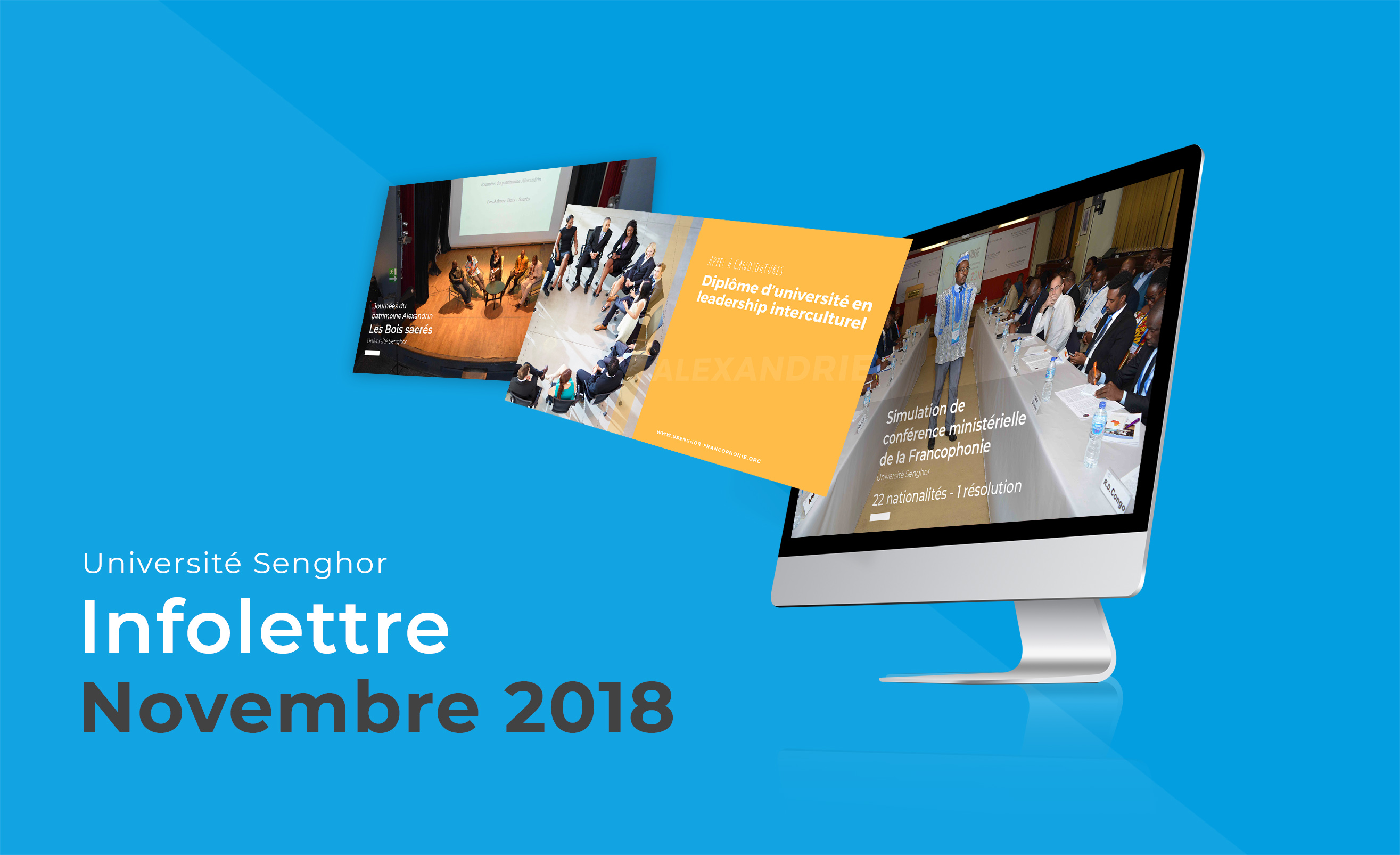 Newsletter Université senghor-Novembre 2018